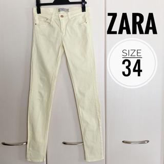 ザラ(ZARA)のZARA カラーパンツ(スキニーパンツ)