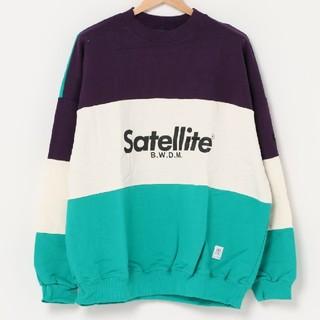 satellite スウェット トレーナー