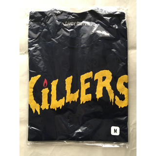 キャンディーストリッパー(Candy Stripper)の新品 CANDY STRIPPER×きらきらアフロ KILLERS Tシャツ(お笑い芸人)