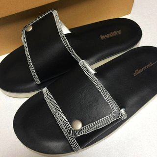 SUNSEA - [dilemma] shower sandals leather