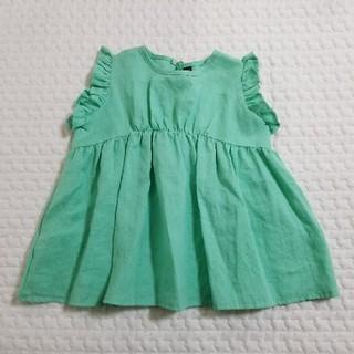 ボンポワン(Bonpoint)の韓国子供服 monmimi ワンピース プティマイン テータテート(ワンピース)