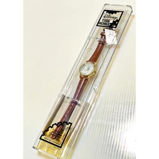 ディズニー(Disney)の新品 未使用 Disney TIME WORKS ティンカーベル 腕時計 年代物(腕時計)
