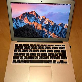 アップル(Apple)のMacBook Air mid 2013 13 inch 純正DVDドライブ付き(ノートPC)