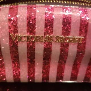Victoria's Secret - Victoria's secret ラメキラキラ ポーチ ペンケース pink