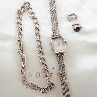 ノジェス(NOJESS)のノジェス 時計、ベルト2点、チャーム2点の合計5点セット(腕時計)