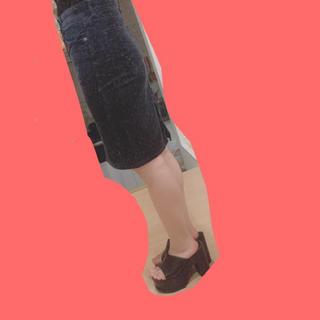 ジーユー(GU)のコーデュロイ風ミニスカート(ミニスカート)