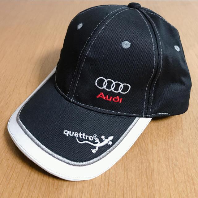 AUDI(アウディ)のnWo様専用です!アウディ クアトロ キャップ 自動車/バイクの自動車(車外アクセサリ)の商品写真
