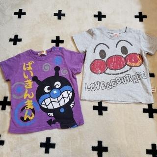 アンパンマン - 【アンパンマン・バイキンマン】Tシャツ(サイズ90・95) 2着