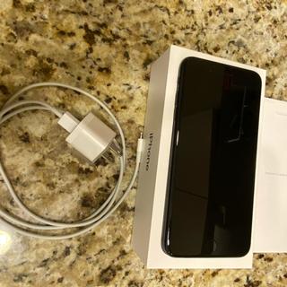 アイフォーン(iPhone)のiPhone 7plus 128g docomo SIMフリーブラック(スマートフォン本体)
