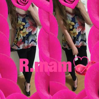 シマムラ(しまむら)の花柄♡backクロス♡花柄フレアキャミソール♡(キャミソール)