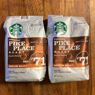 Starbucks Coffee - スターバックス パイクプレイスロースト ミディアムレギュラー2個セット