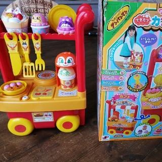 アンパンマン - アンパンマン カフェキッチン おもちゃ ワゴン 美品
