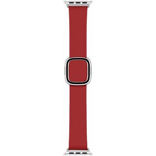 アップル(Apple)のApple Watch 40mm用 ルビー モダンバックル バンド (レザーベルト)