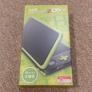 ニンテンドウ(任天堂)の本体 NEW ニンテンドー 2DS LL ブラック/ラ(携帯用ゲーム機本体)