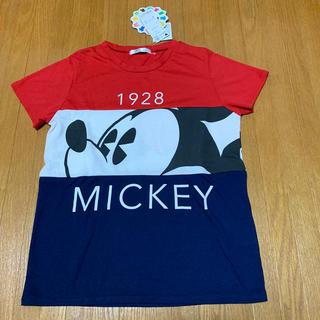 ディズニー(Disney)のディズニー Tシャツ ミッキー L(Tシャツ(半袖/袖なし))