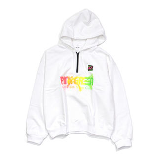 UNUSED - doublet GRADATION NEON EMBROIDERY HOODIE