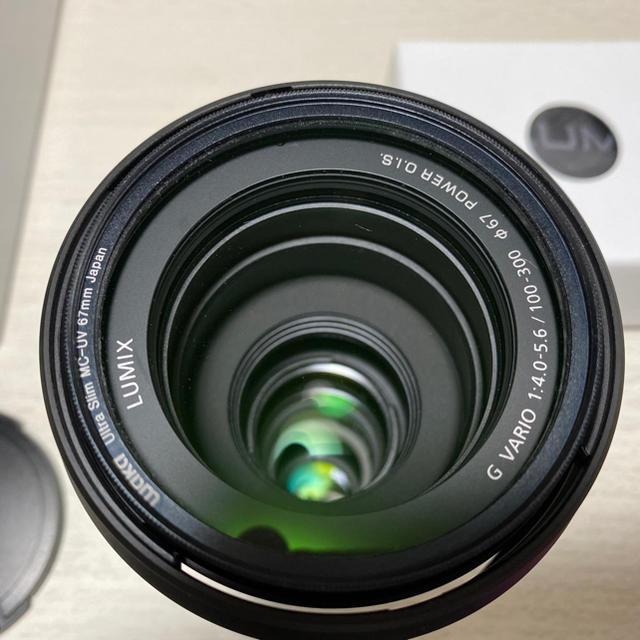 Panasonic(パナソニック)のルミックス G VARIO 100-300mm F4.0-5.6 II スマホ/家電/カメラのカメラ(レンズ(ズーム))の商品写真