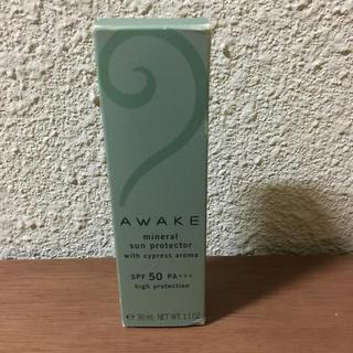 アウェイク(AWAKE)のawake ミネラルサンプロテクター SPF50(日焼け止め/サンオイル)