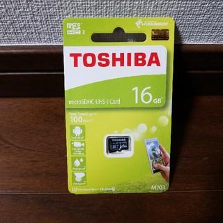 東芝 - ★新品★マイクロSDカード★東芝★microSD 16GB★