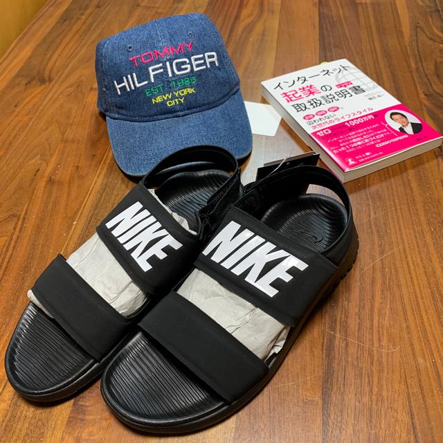 NIKE(ナイキ)のナイキ ウィメンズ タンジュン サンダル 25cm 882694-001 レディースの靴/シューズ(サンダル)の商品写真