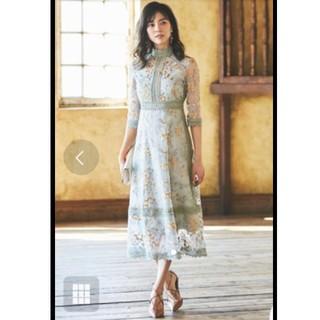 Chesty - ルイルエブティック 結婚式 ドレス レース 刺繍 Lサイズ ワンピース