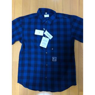 ウールリッチ(WOOLRICH)のWOOLRICH ウールリッチ 半袖 チェックシャツ 新品 M(シャツ)