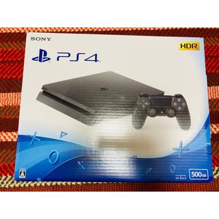 プレイステーション4(PlayStation4)のPS4 500GB 新品(家庭用ゲーム機本体)