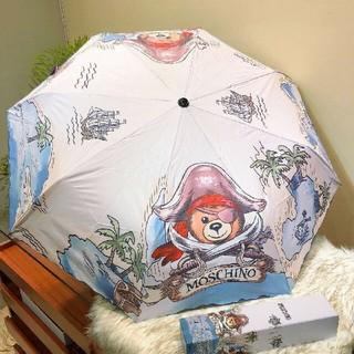 モスキーノ(MOSCHINO)の美品MOSCHINO ★ 折りたたみ傘(傘)