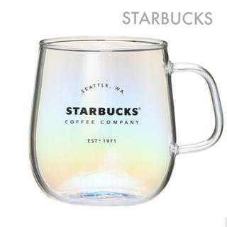 スターバックスコーヒー(Starbucks Coffee)のスターバックス 耐熱グラスマグラスター355ml スタバ  マグ グラス(グラス/カップ)
