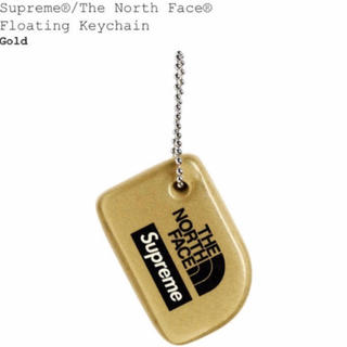 Supreme - supreme the north face keychain gold