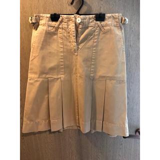 モンクレール(MONCLER)のモンクレール茶タグスカート(ひざ丈スカート)
