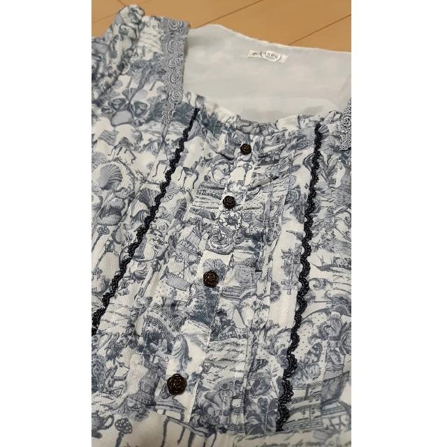 axes femme(アクシーズファム)のaxes★シェル柄ワンピース レディースのワンピース(ひざ丈ワンピース)の商品写真