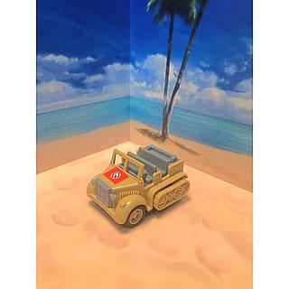 タカラトミー(Takara Tomy)の【レア!美品!】コンバットチョロQ German 8t ハーフトラック(ミニカー)