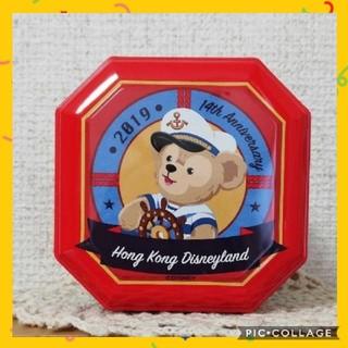 ダッフィー(ダッフィー)の香港ディズニー ダッフィーアンドブレンズ 空き缶 小物入れ(小物入れ)