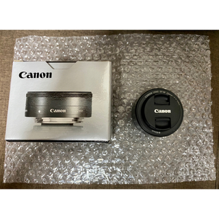 Canon - Canon 単焦点広角レンズ EF-M22mm F2 STM ほぼ未使用