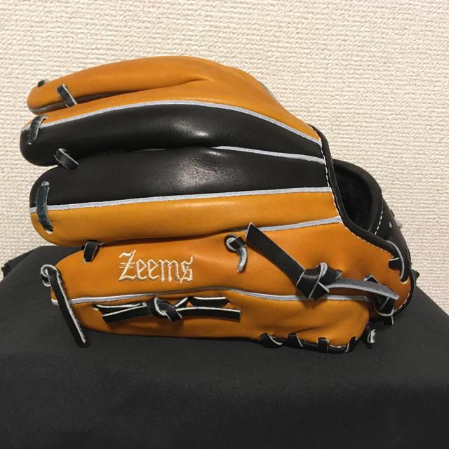 Zeems(ジームス)のジームス 軟式 オーダーグラブ メーカー型付け 屋外未使用 スポーツ/アウトドアの野球(グローブ)の商品写真