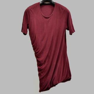 ユリウス(JULIUS)のJULIUS TWISTED SHIRRING CUT&SEWN BLOOD(Tシャツ/カットソー(七分/長袖))