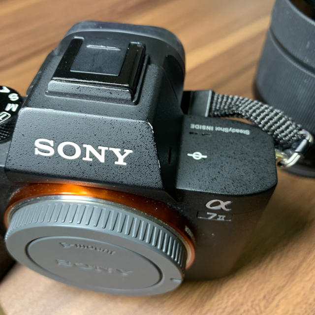 SONY(ソニー)のSony a7ⅱ レンズ2本セット スマホ/家電/カメラのカメラ(ミラーレス一眼)の商品写真