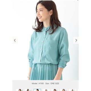デミルクスビームス(Demi-Luxe BEAMS)のバンドカラーシャツ(シャツ/ブラウス(長袖/七分))