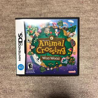 ニンテンドウ(任天堂)のAnimal Crossing Wild World (家庭用ゲームソフト)