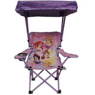 ディズニー(Disney)のディズニー アウトドア キッズチェア 屋根付き プリンセス(テーブル/チェア)