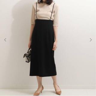 ノーブル(Noble)のノーブル☆ショルダーストラップサロペットスカート(サロペット/オーバーオール)