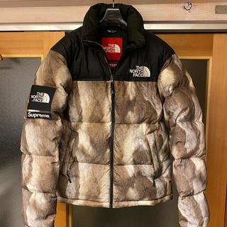 Supreme - 13FW Supreme North Face Fur Print Nuptse
