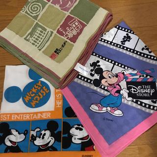 ディズニー(Disney)のディズニー☆ハンカチ3枚組(ハンカチ)