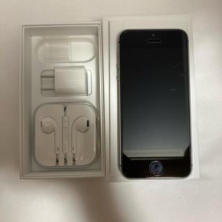 アイフォーン(iPhone)のiPhone SE 初代 64GB  スペースグレイ(スマートフォン本体)