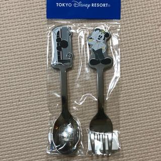 ディズニー(Disney)のディズニー リゾートクルーザー ミッキー バス スプーン フォーク カトラリー(スプーン/フォーク)