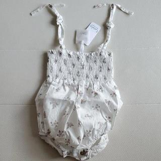 キャラメルベビー&チャイルド(Caramel baby&child )の9m♥tocotovintage flower print body(ロンパース)