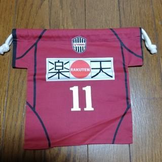 【巾着】*ヴィッセル神戸 *カズ 11(サッカー)