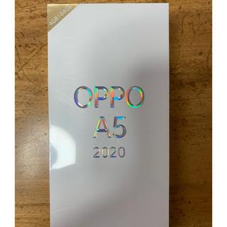 ⭐︎新品⭐︎OPPO A5 2020 楽天モバイル対応 simフリー(スマートフォン本体)