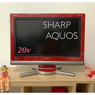 SHARP - 【SHARP*AQUOS 】液晶テレビ/ 20インチ  LC-20D10